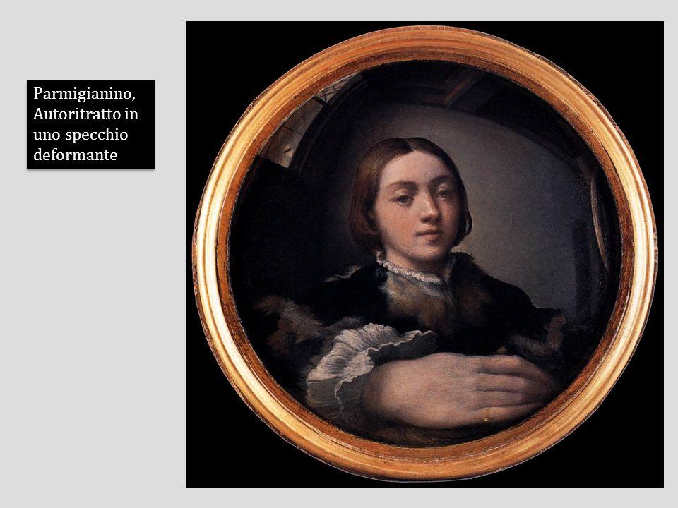 Parmigianino, Autoritratto in uno specchio deformante