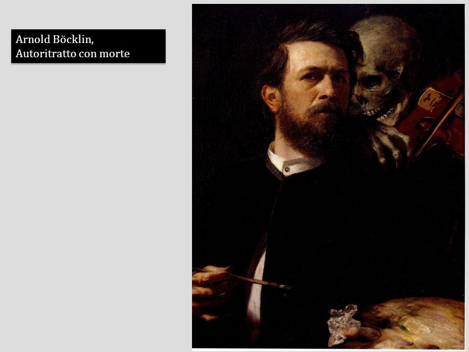 Arnold Böcklin, Autoritratto con morte