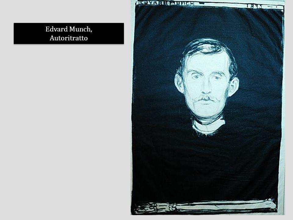 Edvard Munch, Autoritratto