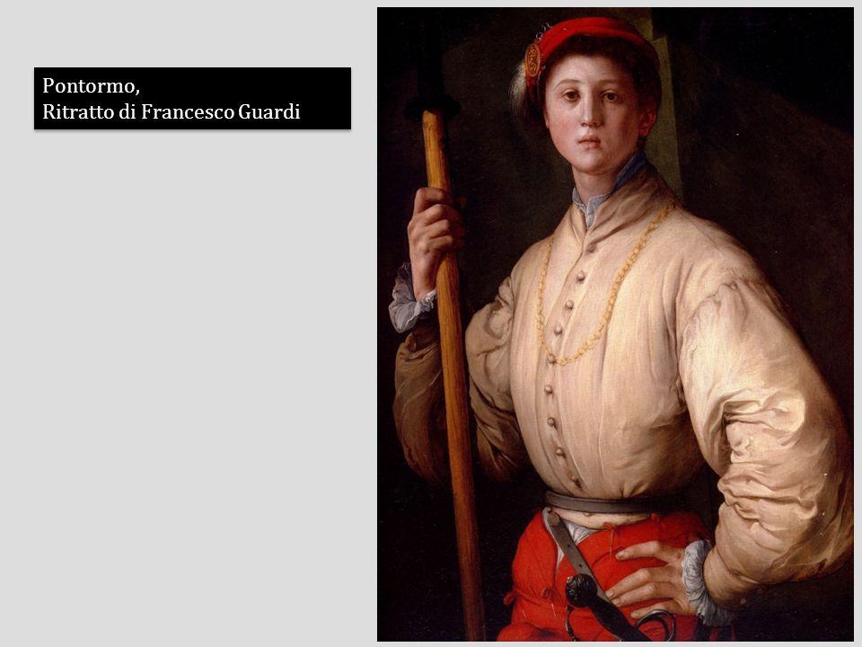 Pontormo, Ritratto di Francesco Guardi