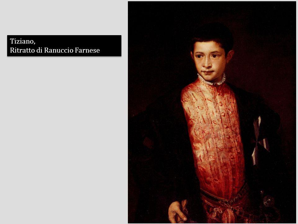 Tiziano, Ritratto di Ranuccio Farnese