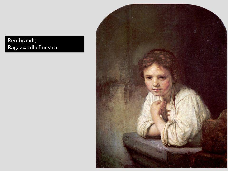 Rembrandt, Ragazza alla finestra