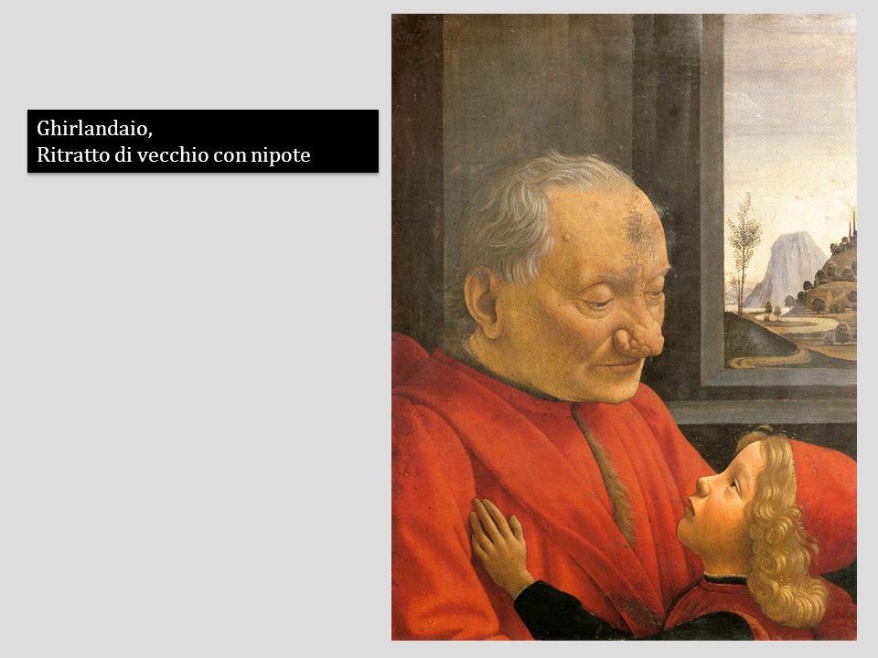 Ghirlandaio, Ritratto di vecchio con nipote