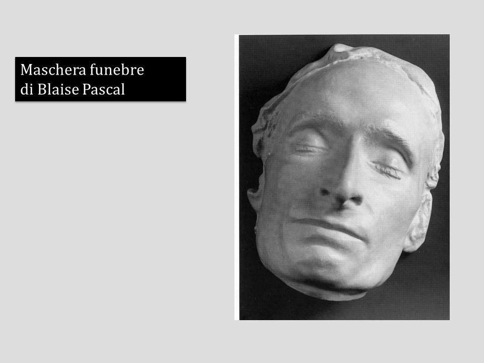 Maschera funebre di Blaise Pascal