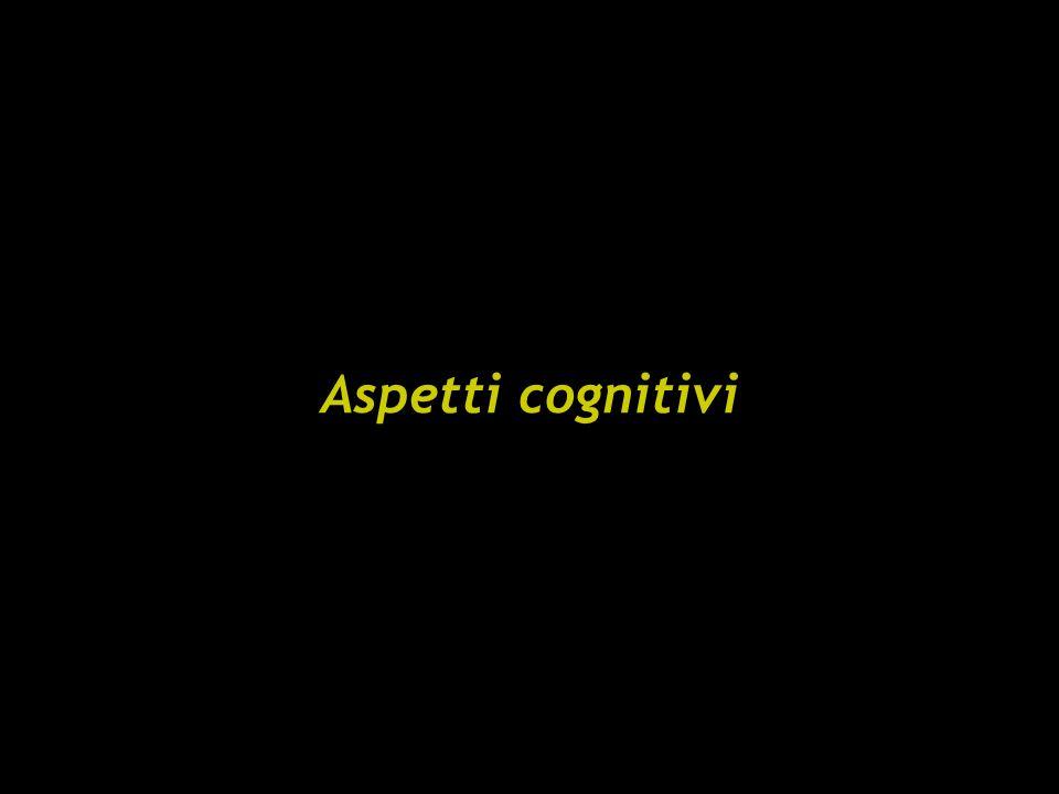 Aspetti cognitivi