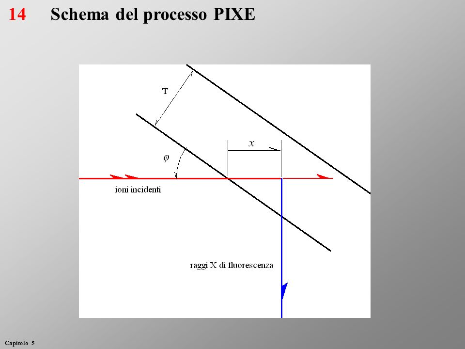 Schema del processo PIXE