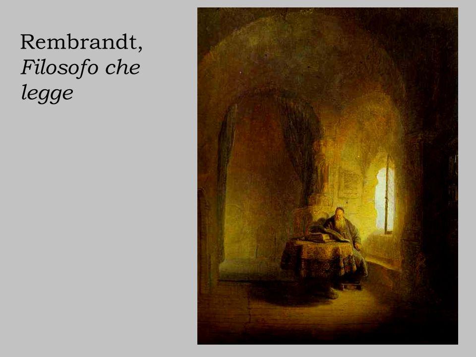 Rembrandt, Filosofo che legge