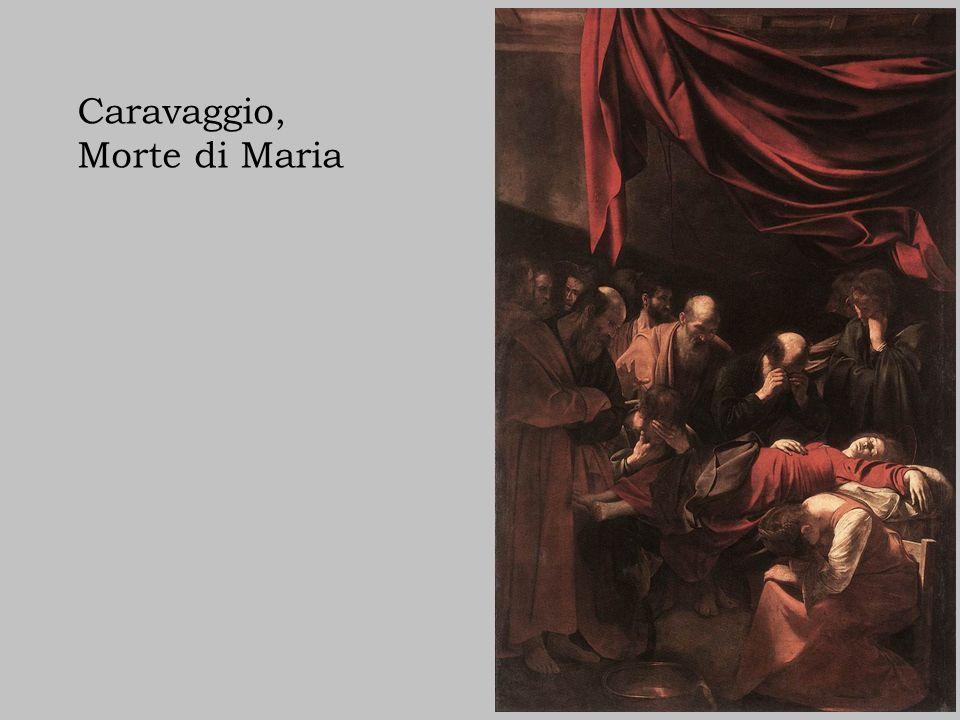 Caravaggio, Morte di Maria