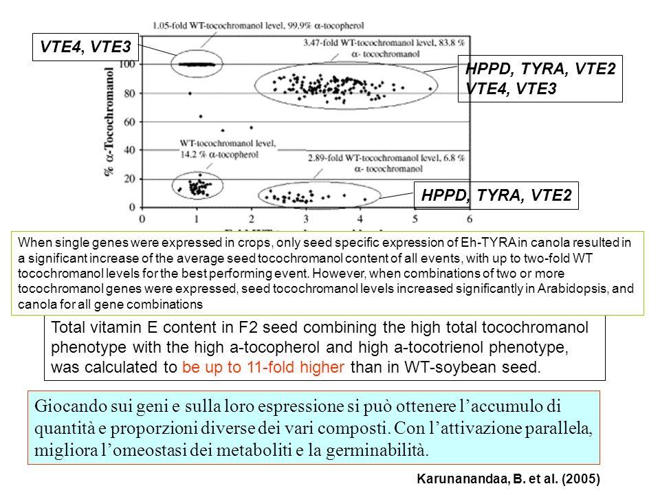 VTE4, VTE3 HPPD, TYRA, VTE2. VTE4, VTE3. HPPD, TYRA, VTE2.