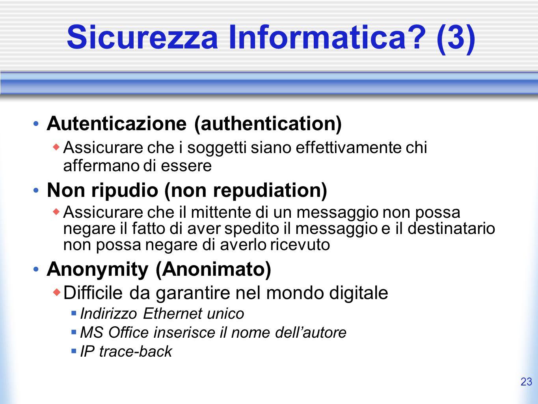 Sicurezza Informatica (3)