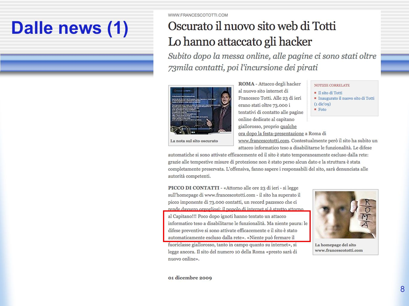 Dalle news (1)