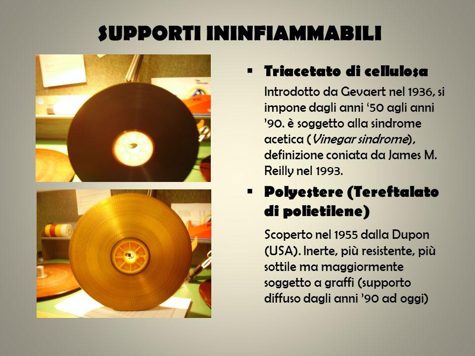 SUPPORTI ININFIAMMABILI