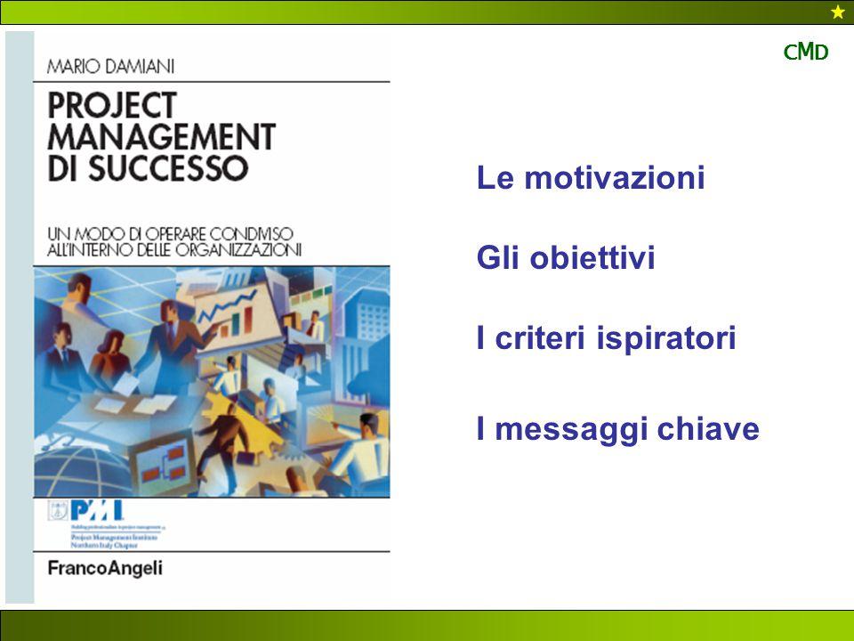 Le motivazioni Gli obiettivi I criteri ispiratori I messaggi chiave