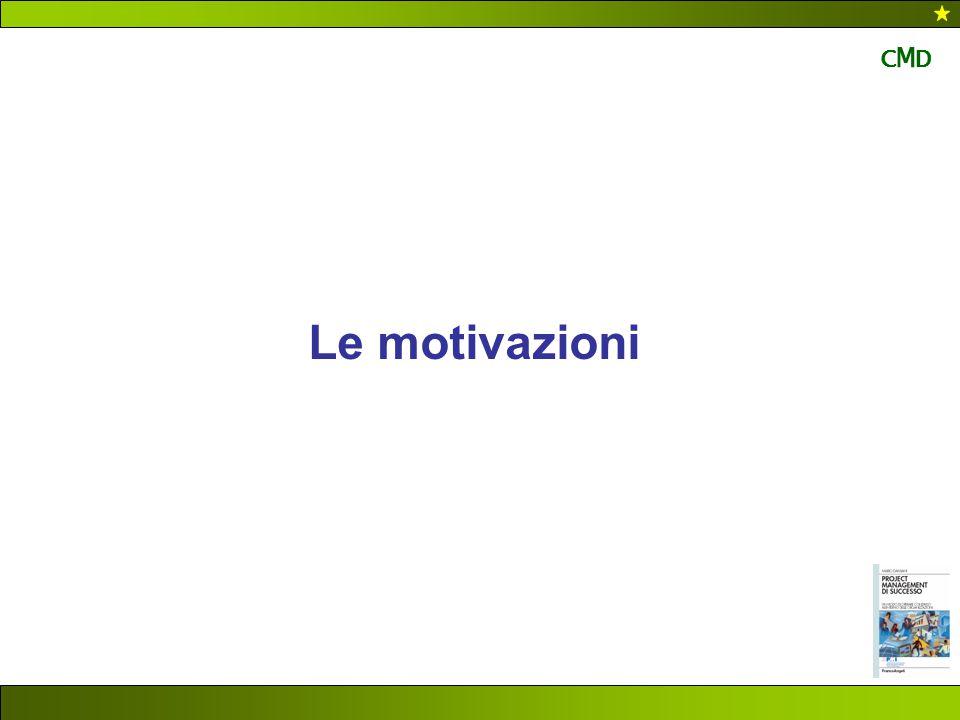 CMD Le motivazioni