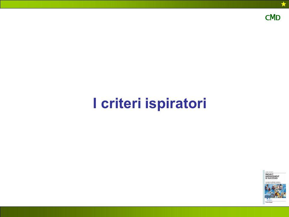 CMD I criteri ispiratori