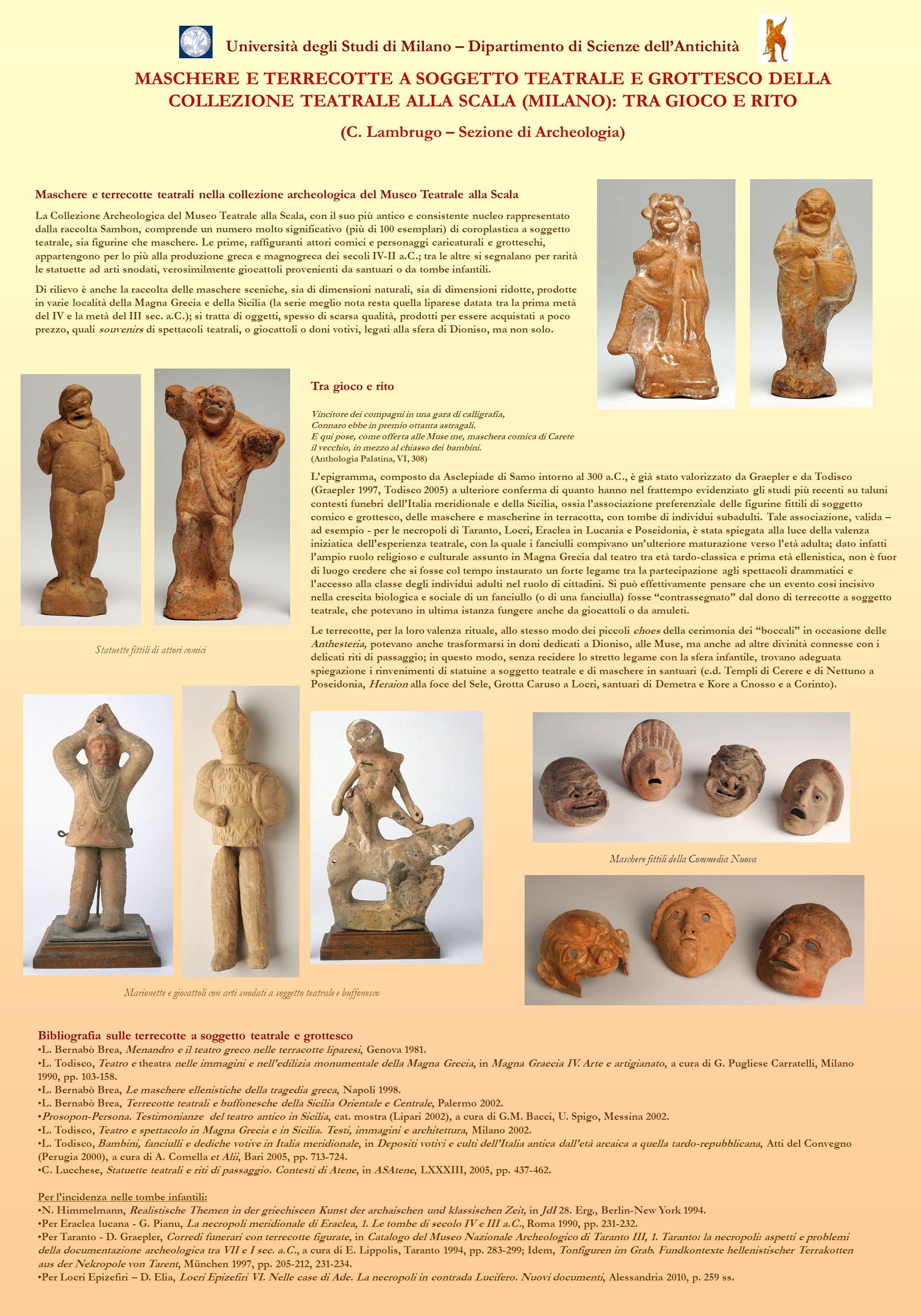 (C. Lambrugo – Sezione di Archeologia)