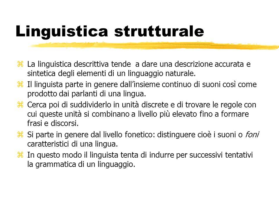 Linguistica strutturale