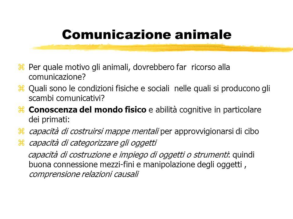 Comunicazione animale