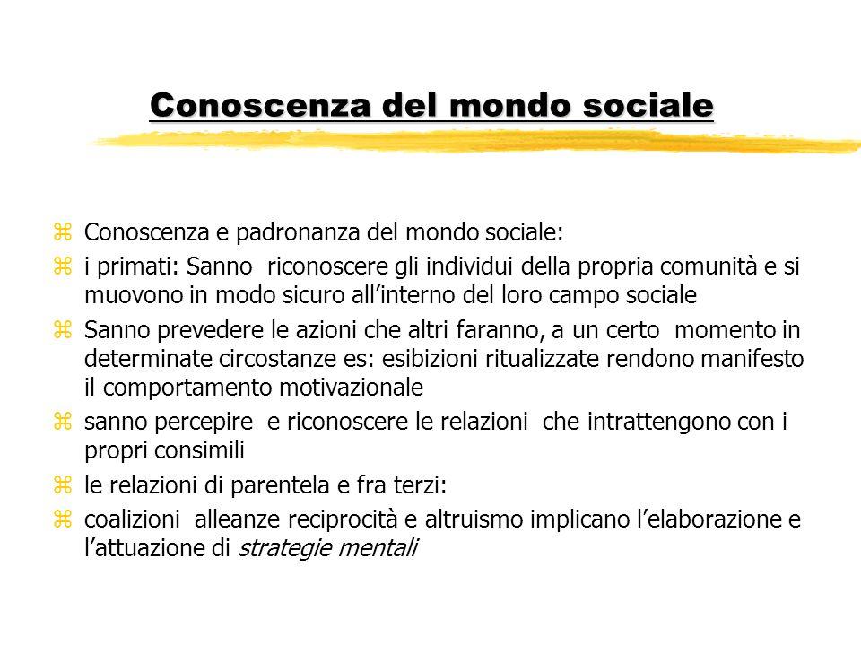 Conoscenza del mondo sociale