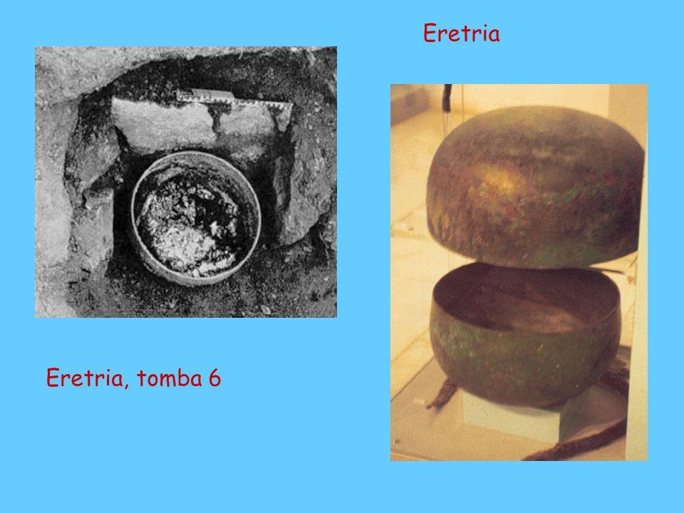 Eretria Le tombe degli Ippobotai Eretria, tomba 6