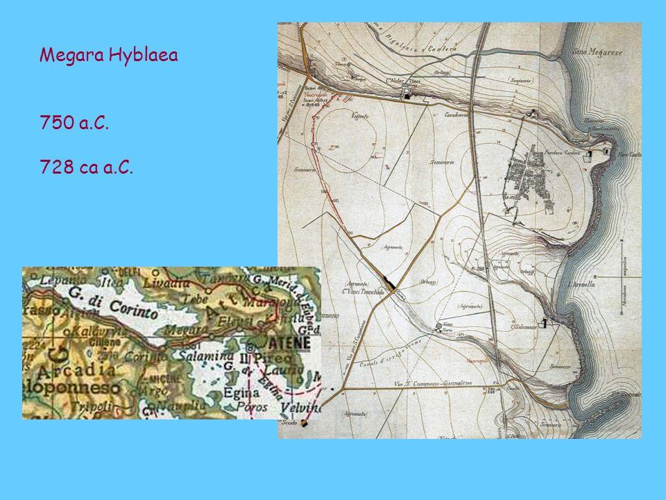 Megara Hyblaea 750 a.C. 728 ca a.C.