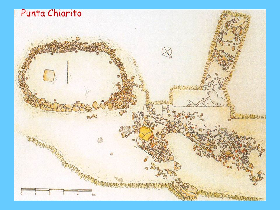 Punta Chiarito Punta Chiarito, casa, planimetria; m 7x4 con ingresso sul lato est