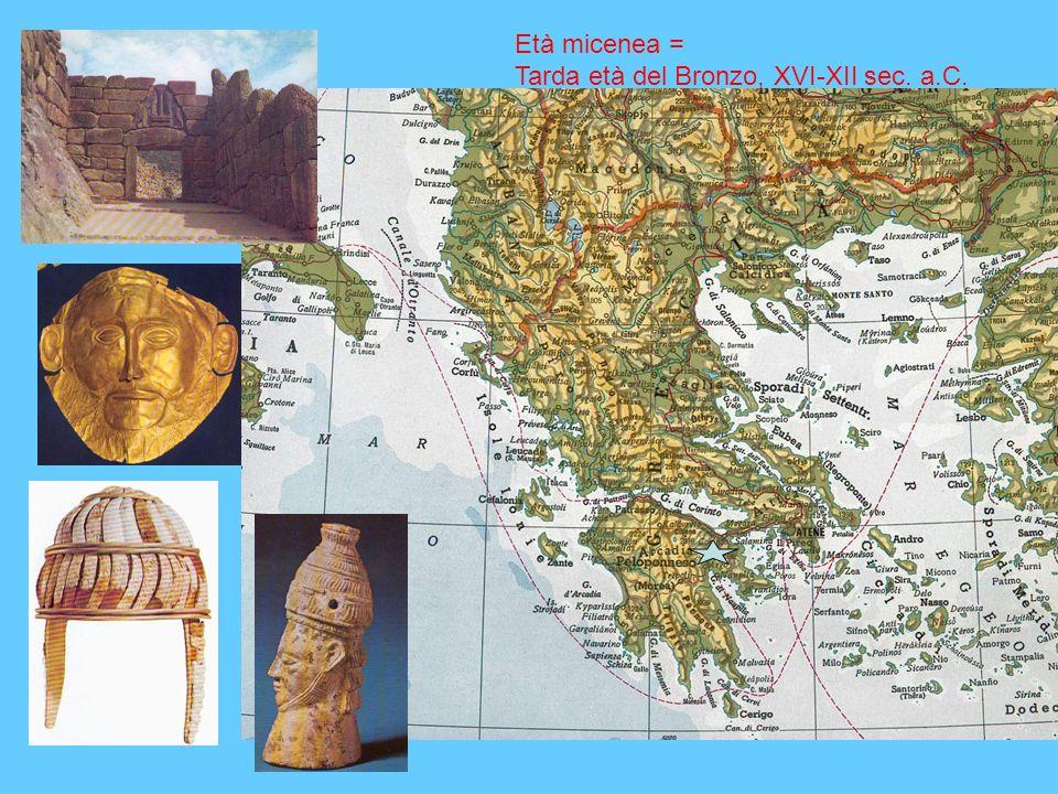 Tarda età del Bronzo, XVI-XII sec. a.C.