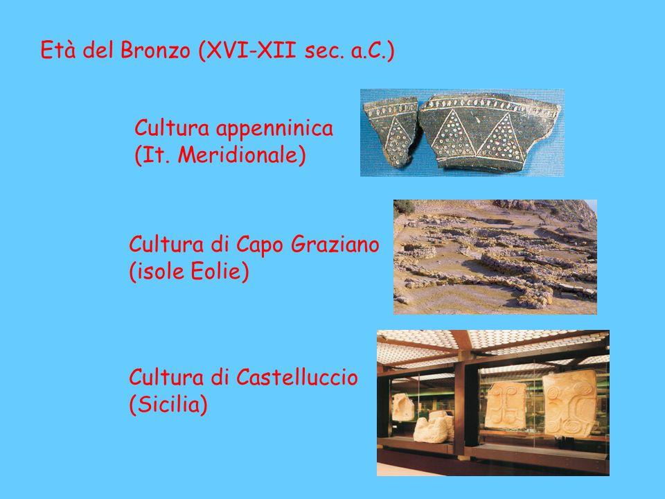 Età del Bronzo (XVI-XII sec. a.C.)