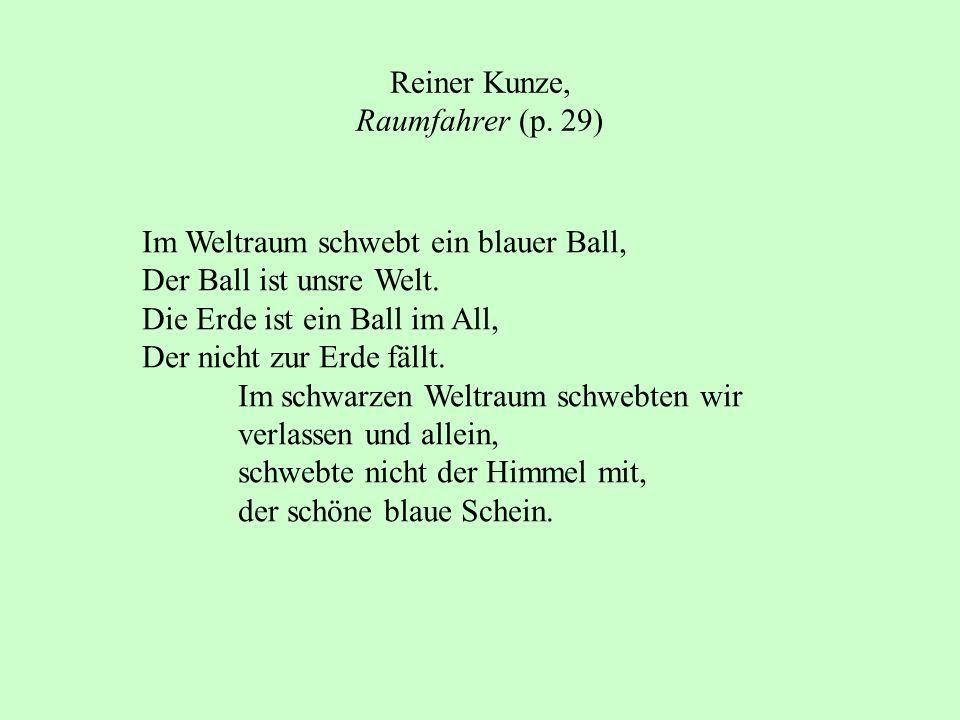 Reiner Kunze, Raumfahrer (p. 29)
