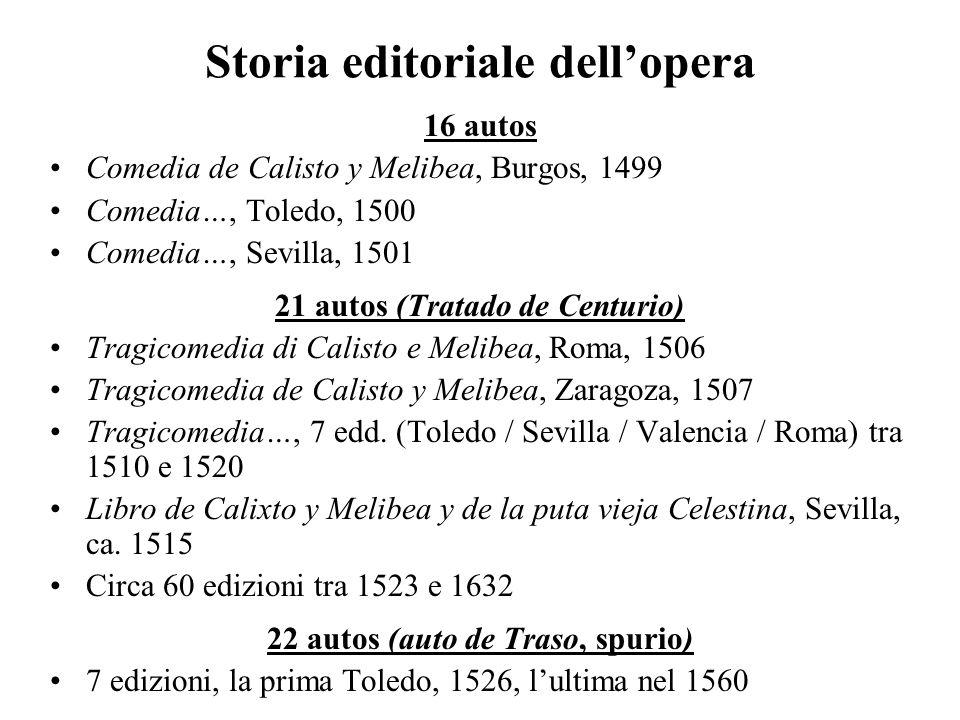 Storia editoriale dell'opera
