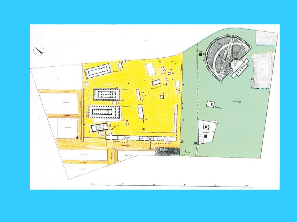 Metaponto, santuario urbano e agorà
