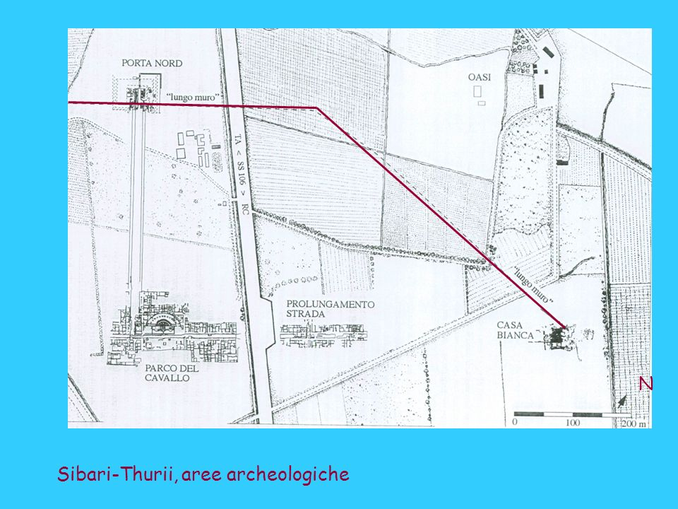N Sibari-Thurii, aree archeologiche