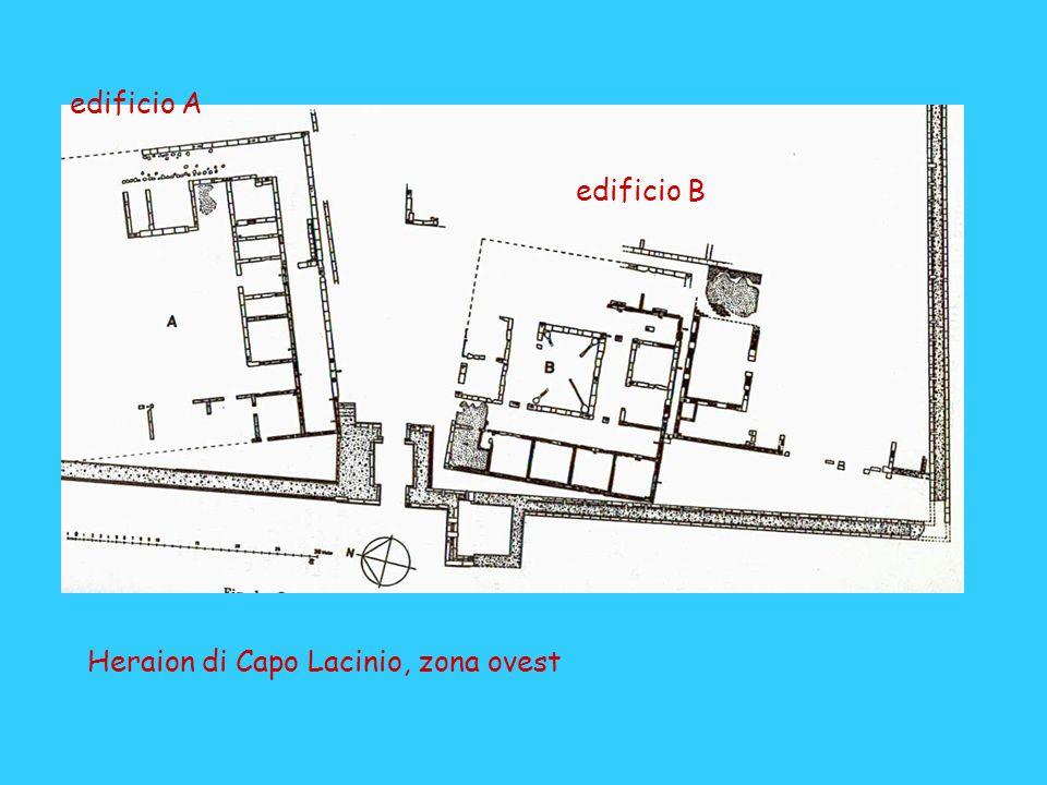 edificio A edificio B Heraion di Capo Lacinio, zona ovest