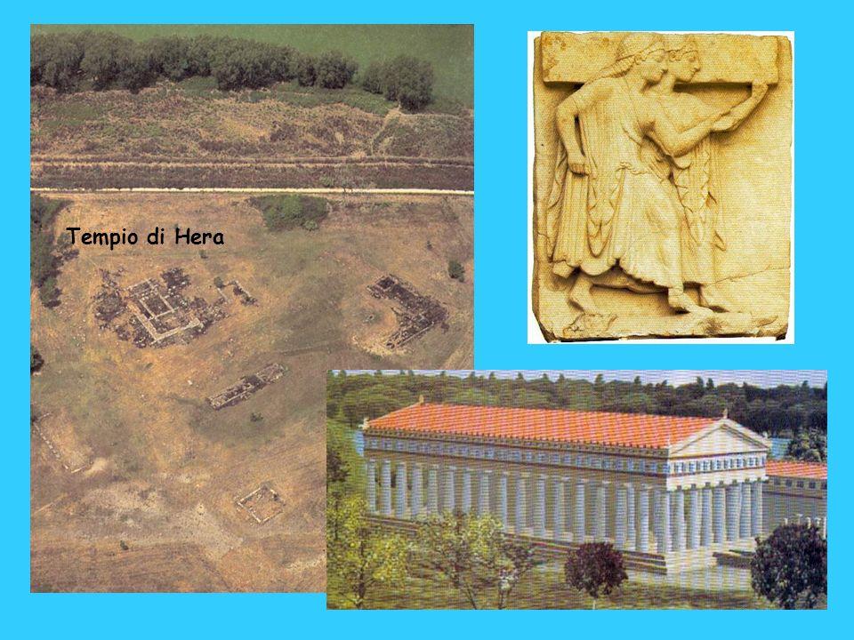 Tempio di Hera Il tempio di fine VI secolo