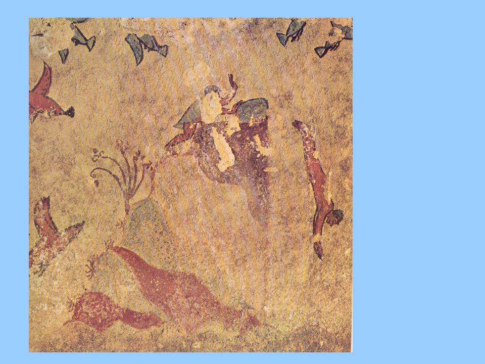 Il tuffo della tomba della caccia e della pesca di Tarquinia, un tuffo nella natura