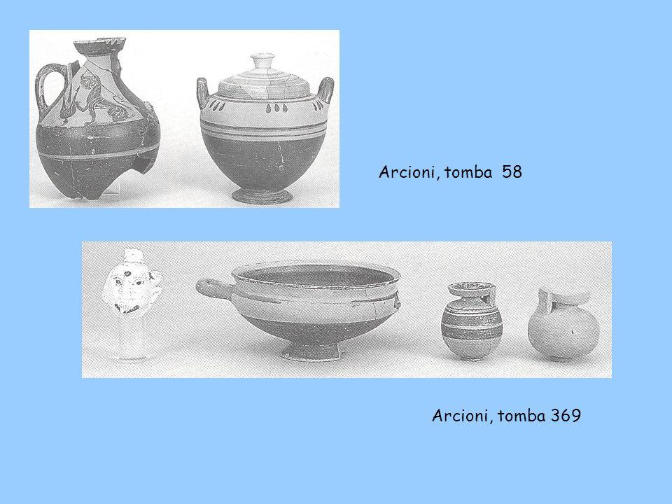 Arcioni, tomba 58 Arcioni, tomba 369