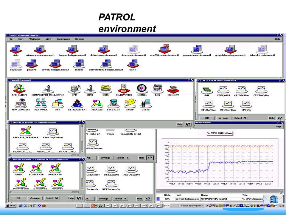 PATROL environment