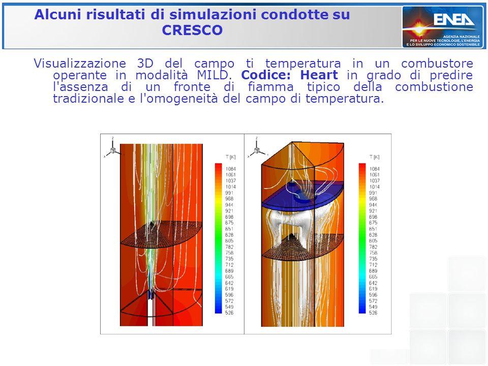 Alcuni risultati di simulazioni condotte su CRESCO