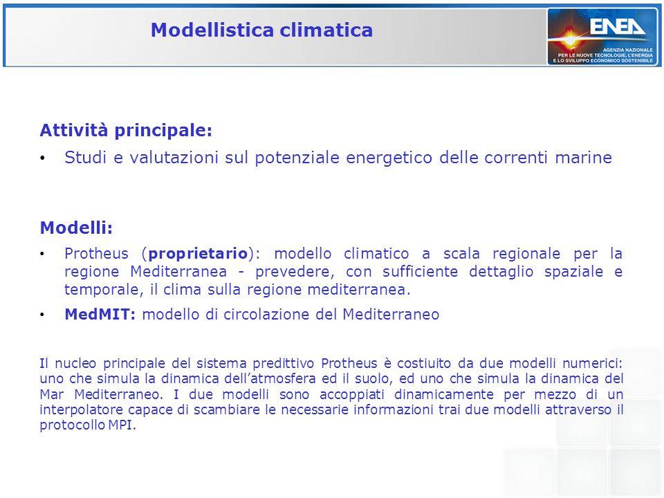 Modellistica climatica