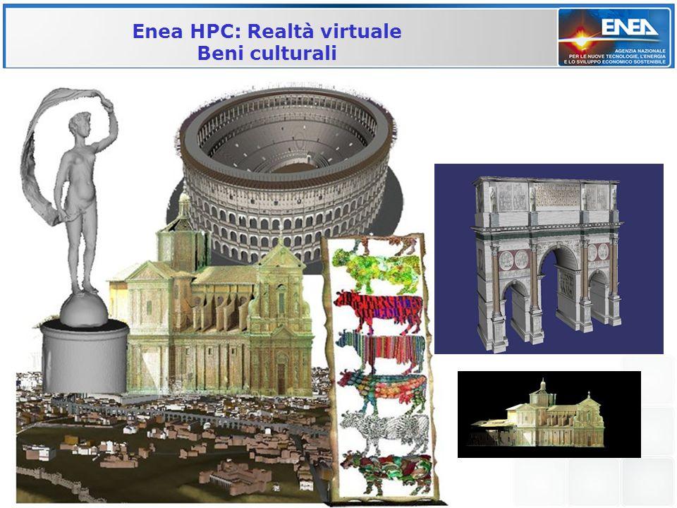 Enea HPC: Realtà virtuale
