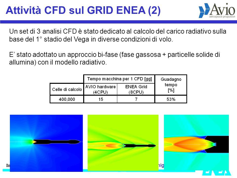 Attività CFD sul GRID ENEA (2)