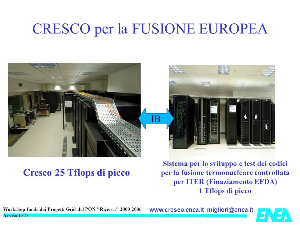 CRESCO per la FUSIONE EUROPEA