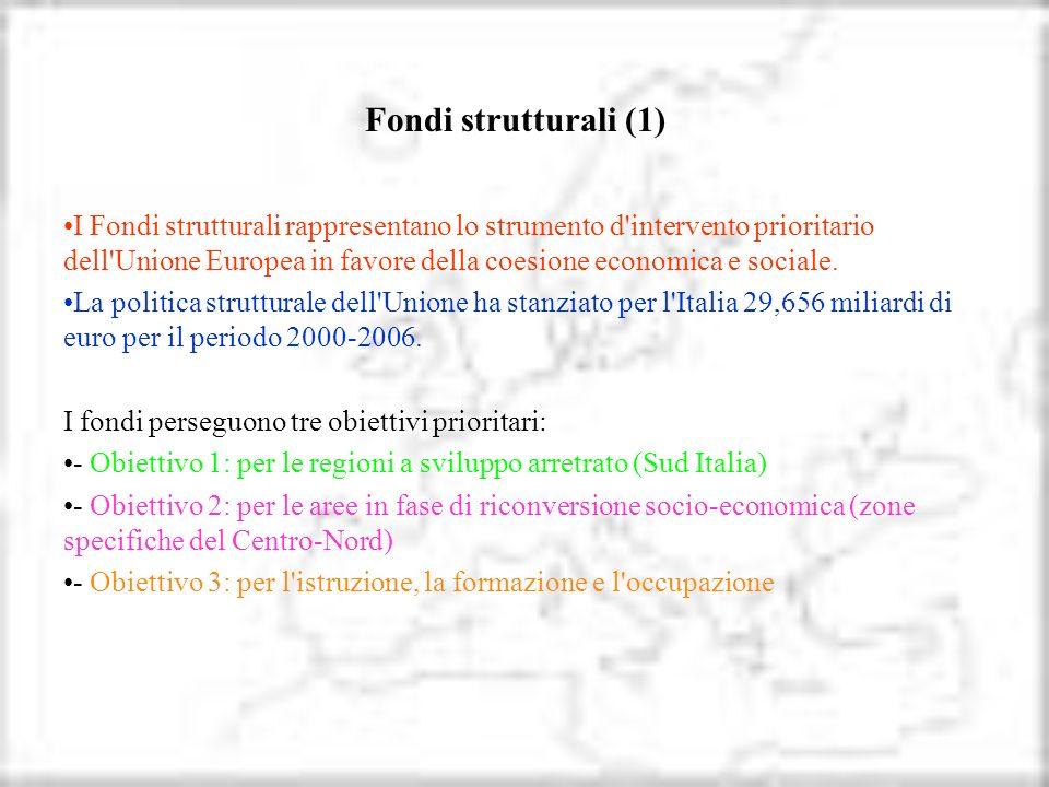 Fondi strutturali (1)