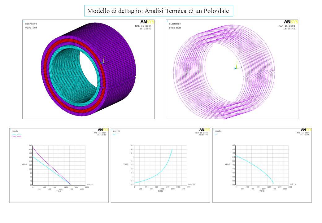 Modello di dettaglio: Analisi Termica di un Poloidale