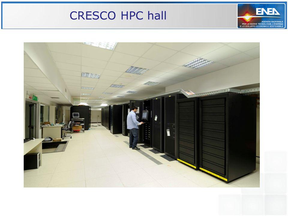 CRESCO HPC hall