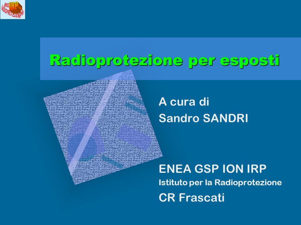 Radioprotezione per esposti