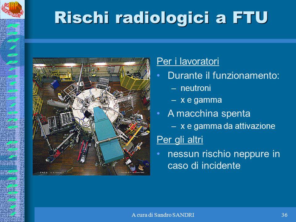 Rischi radiologici a FTU