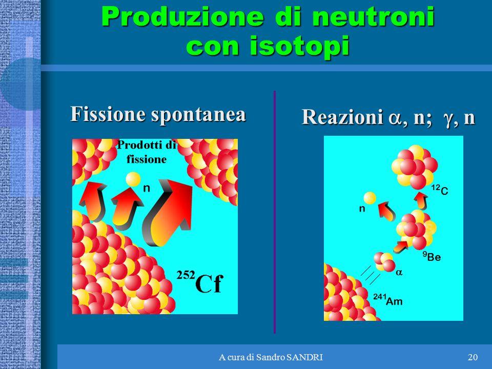 Produzione di neutroni con isotopi