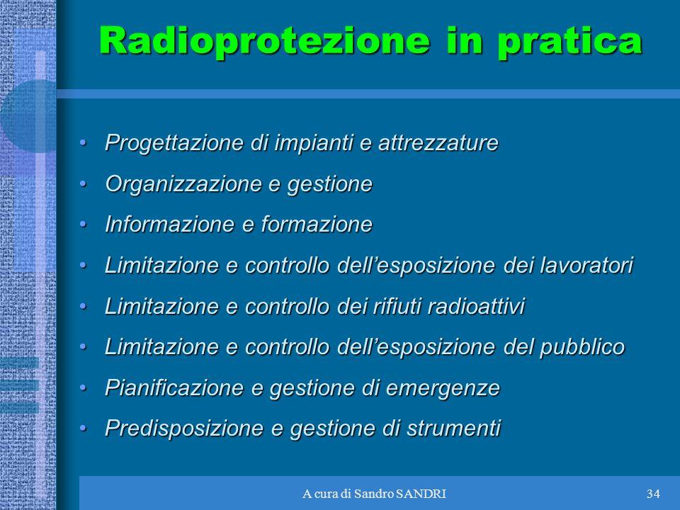 Radioprotezione in pratica