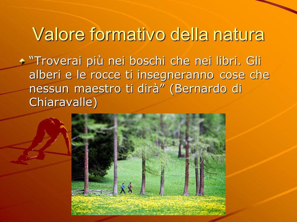 Valore formativo della natura